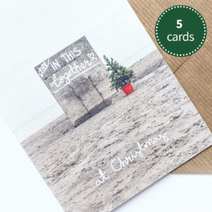 In this Together at Christmas | 5 pack greeting card