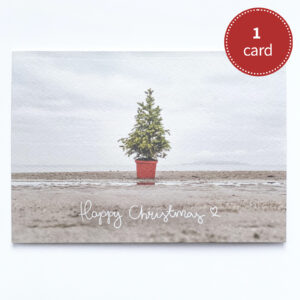 Happy Christmas on Burrow Beach | greeting card