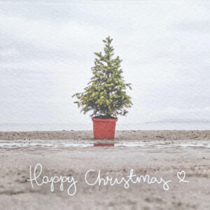 Happy Christmas on Burrow Beach | greeting card